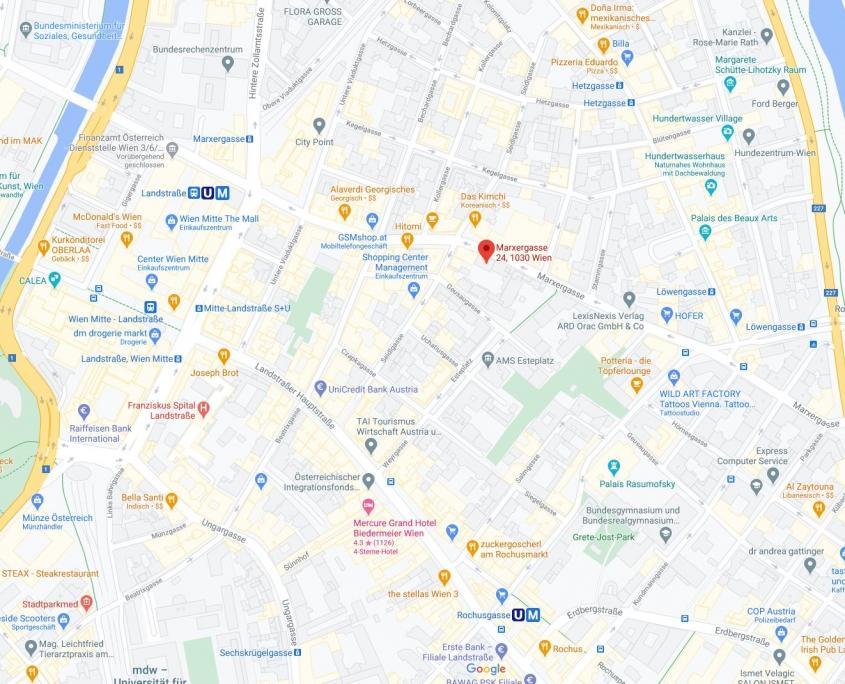 Marxergasse Maps